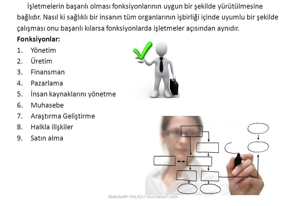 Yönetim: Belli amaçlara ulaşmak için işlerin planlanması, örgütlenmesi(örgüt yapısının oluşturulması), planların uygulanması, koordinasyonu ve uygulama sonuçlarının kontrol edilmesi sürecine yönetim denir.