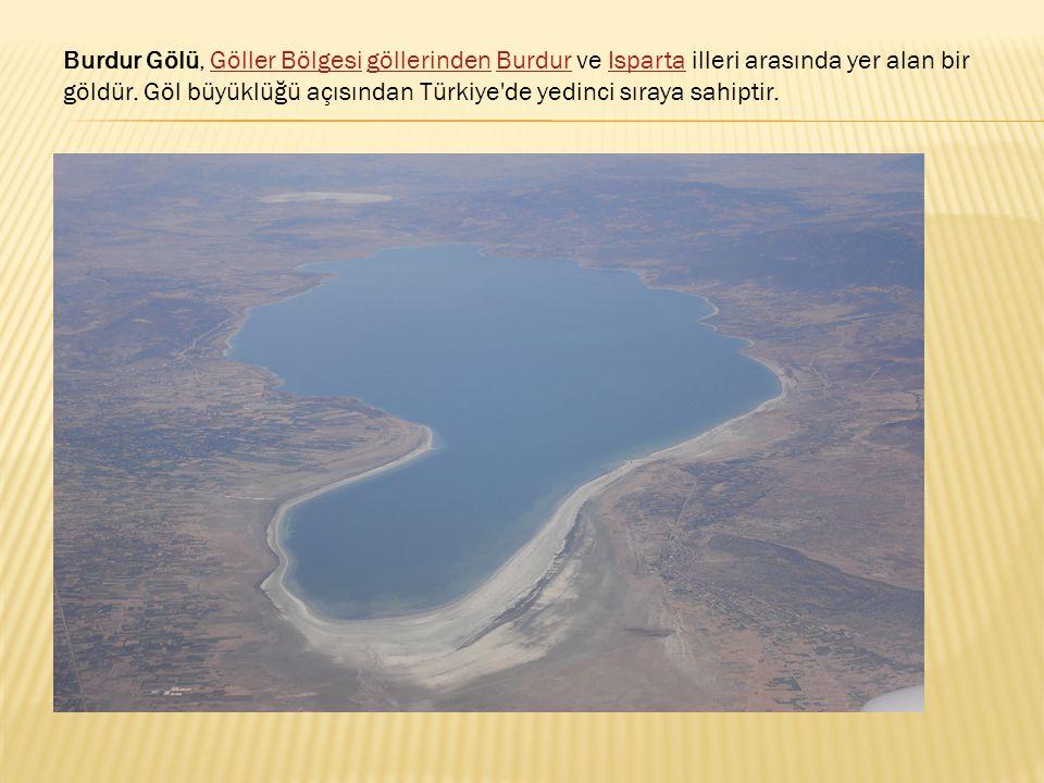 Burdur Gölü, Göller Bölgesi göllerinden Burdur ve Isparta illeri arasında yer alan bir göldür.