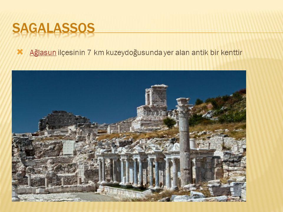  Ağlasun ilçesinin 7 km kuzeydoğusunda yer alan antik bir kenttir Ağlasun