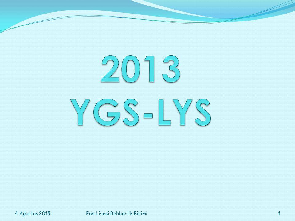 Bir önceki yıl yerleşip okula kayıt yaptırmayan ya da kayıt yaptırdıktan sonra kaydını sildiren öğrenci yeniden YGS-LYS sınavlarına girdiğinde durumu şöyle olur: 0,12'le çarpılan okul puanları 0,06 ile çarpılır yani okul puanlarında yarı yarıya bir düşüş gerçekleşir.