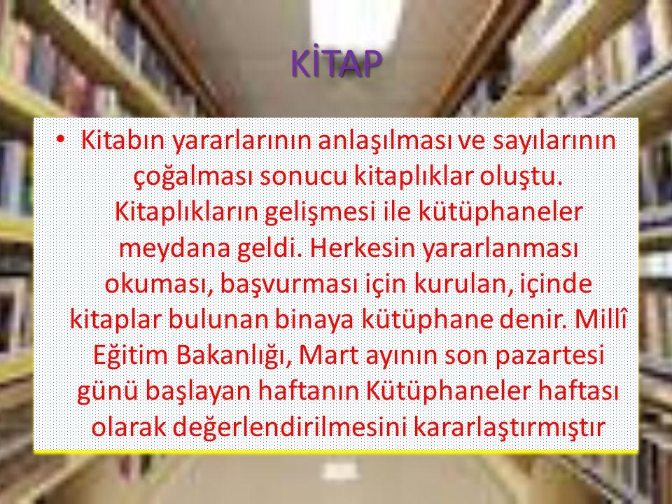 Kütüphanecilik özel bir eğitimi ve öğretimi gerektiren bir meslektir.