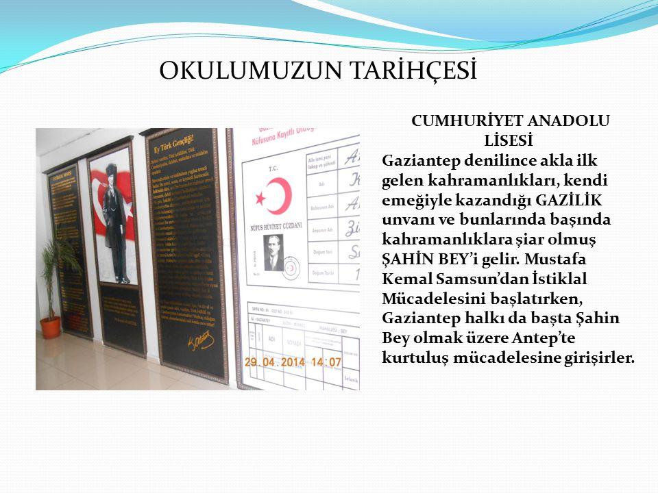 Öyle ki; Türküm diyen her şehir, her kasaba ve en küçük Türk köyü bile Gazianteplileri kendilerine kahramanlık timsali olarak alabilirler diyen Ulu Önder Gaziantep'in bu şanlı mücadelesine alkış tutar.