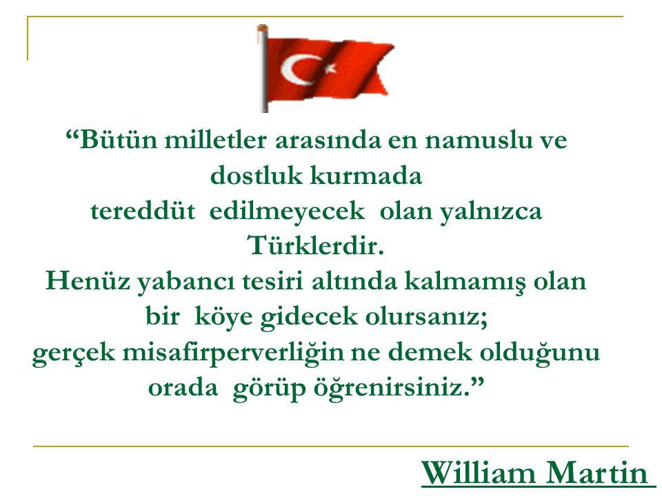 Türklerden bahsediyorum...