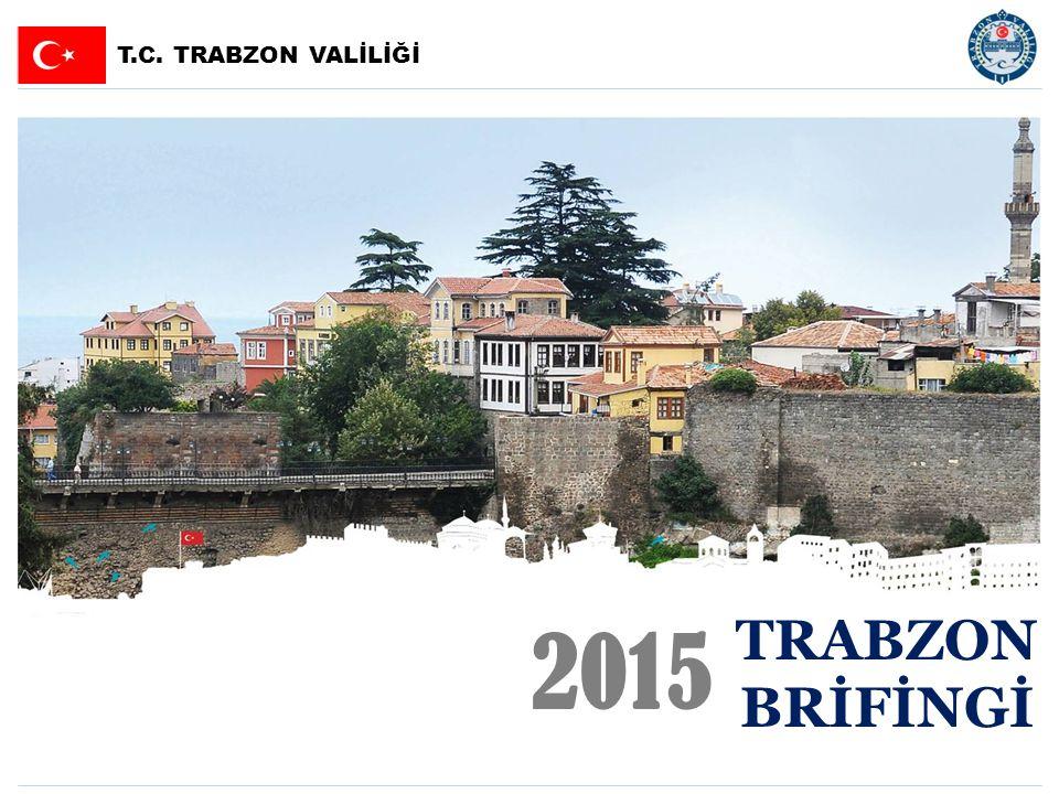 SUNUŞ SUNUŞ Trabzon:3Trabzon'da Bazı Önemli Projeler:37 Sayılarla Trabzon:4Devam Eden Yatırımların Genel Görünümü : 38 Sosyal Durum:6  Trabzon Kanuni Bulvarı : 39 Sağlık:7  Trabzon-Maçka-Erzurum Bölünmüş Yolu : 40 Eğitim:10  Akçaabat, Vakfıkebir OSB ve Beşikdüzü 2.