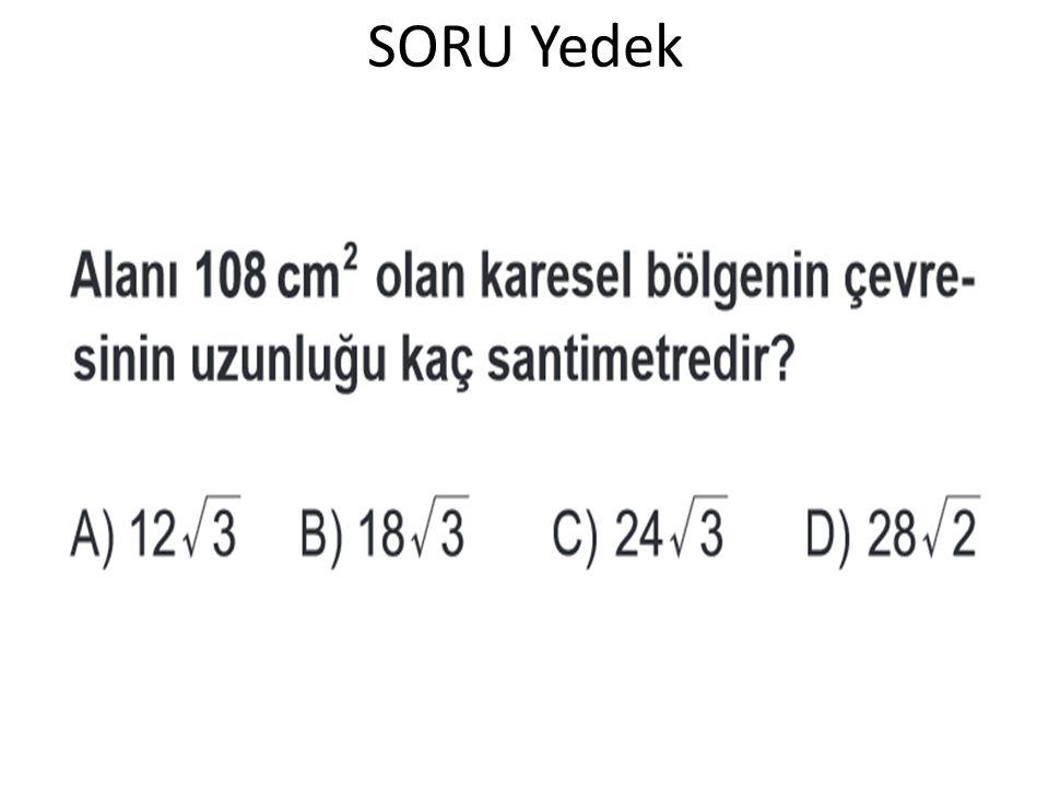 SORU Yedek