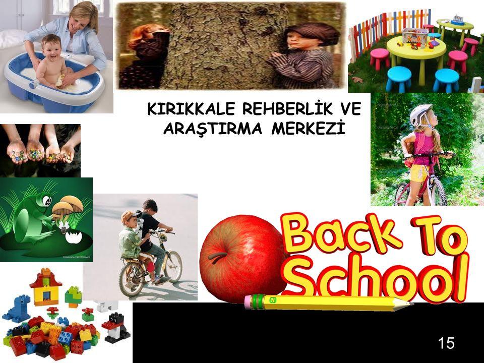 … KIRIKKALE REHBERLİK VE ARAŞTIRMA MERKEZİ 05.08.201515