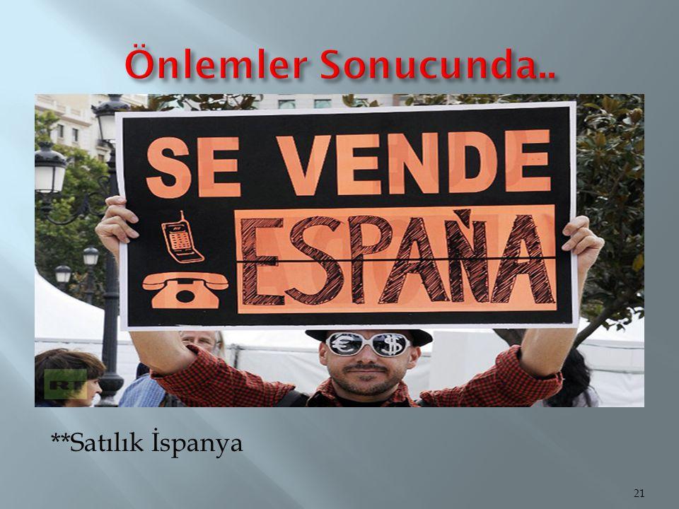 **Satılık İspanya 21
