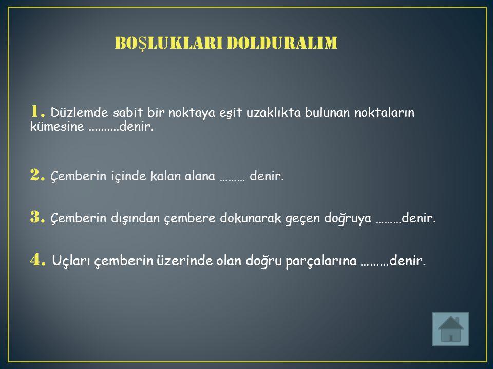 BO Ş LUKLARI DOLDURALIM 1.