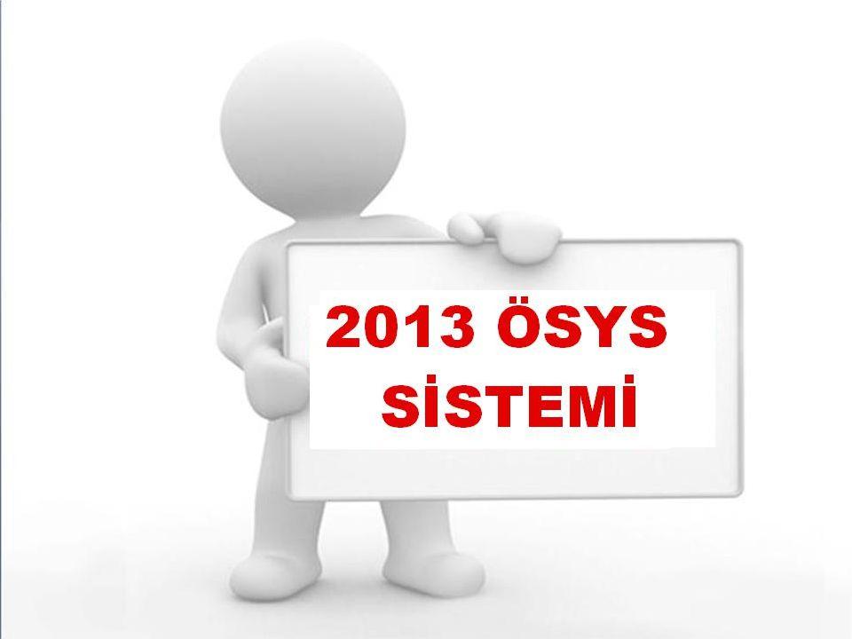 LYS Lisans Yerleştirme Sınavları YGS Yüksek Öğretime Geçiş Sınavı. ÖSYM İki Aşamalı Sistem