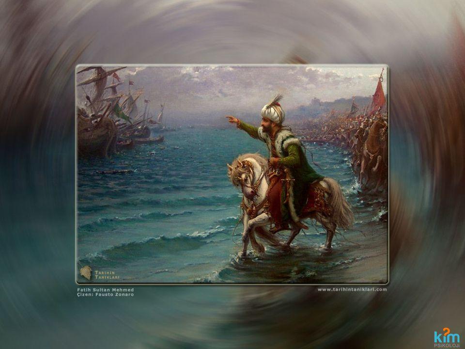 SAYGI Fatih Sultan Mehmet İstanbul'u fetih edince atı üstünde şehre girerken bir bakıyor ki Hocası Akşemsettin yürüyor.