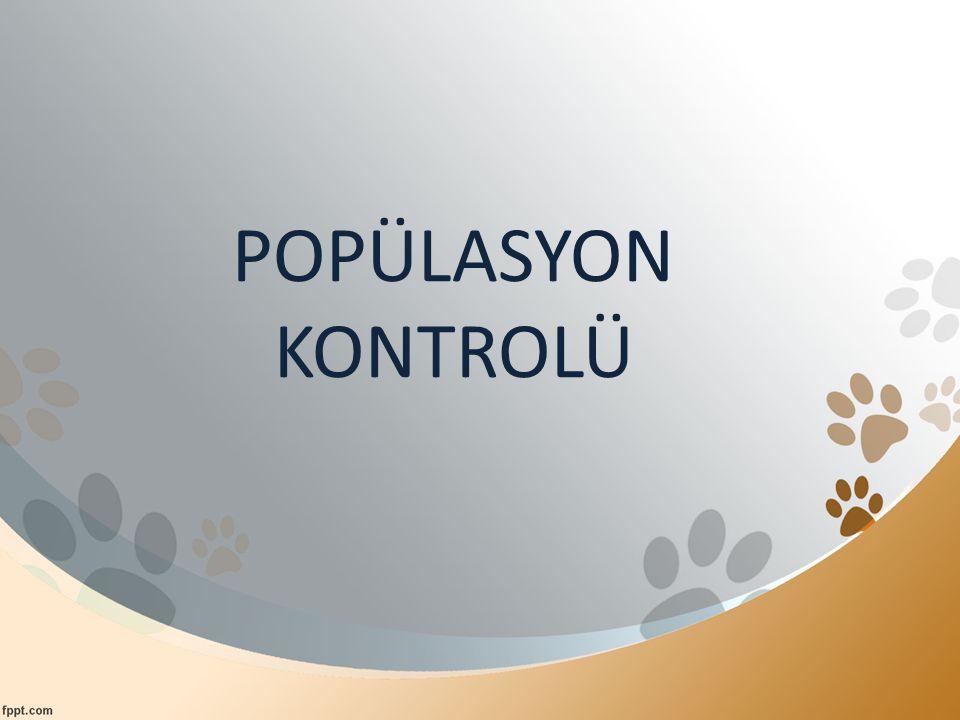 POPÜLASYON KONTROLÜ