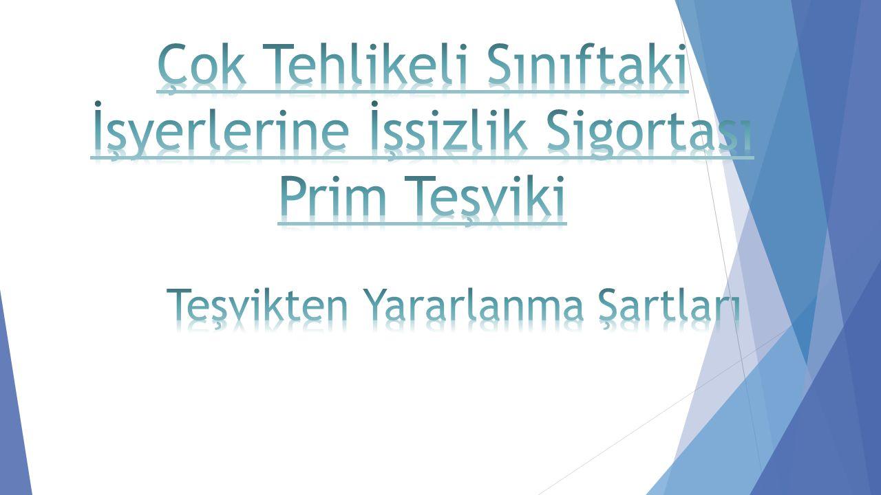 İşyerinin çok tehlikeli sınıfta yer alması, Türkiye genelinde çok tehlikeli işyerlerindeki çalıştırılan işçi sayısının 10' dan fazla olaması, 3 yıl içinde, Ölümlü veya sürekli iş göremezlikle sonuçlanan iş kazası meydana gelmemesi, gerekmektedir.