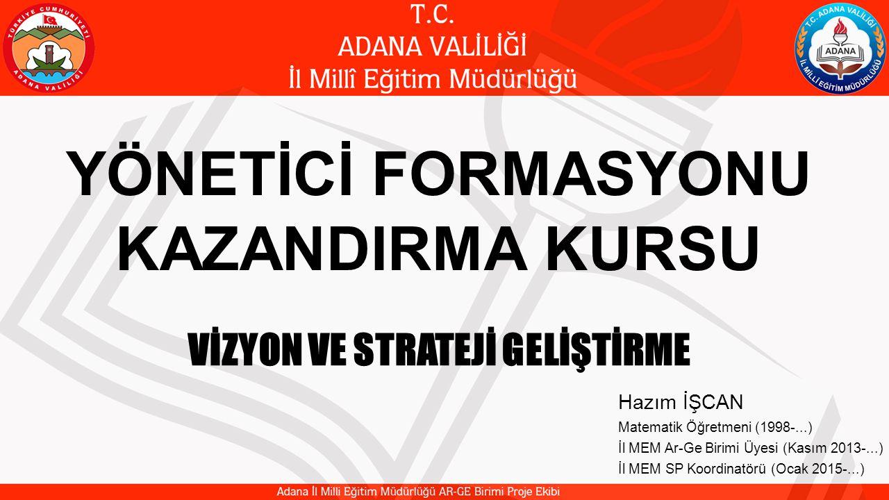 Konu: VİZYON VE STRATEJİ GELİŞTİRME Vizyon tanımı ve Vizyonun Özellikleri Vizyonun Değerler, Misyon ve Eylemlerle İlişkisi Vizyon Geliştirme Süreci Strateji Geliştirme Vizyoner Liderlik Stratejik Planlama 3