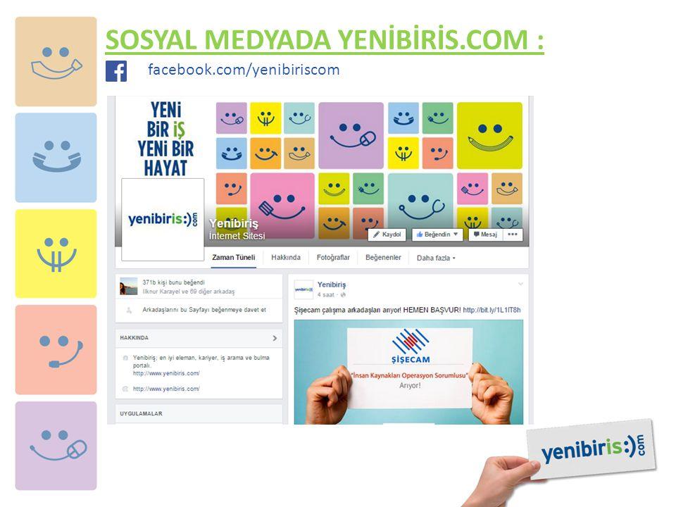 SOSYAL MEDYADA YENİBİRİS.COM : facebook.com/yenibiriscom