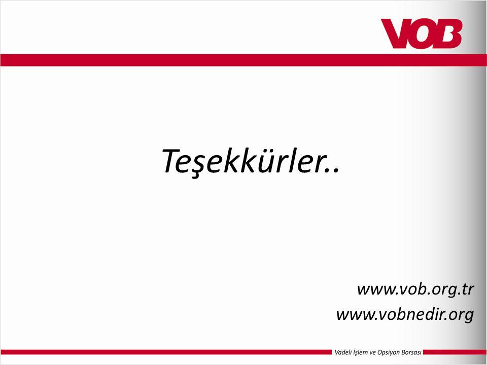 Teşekkürler.. www.vob.org.tr www.vobnedir.org