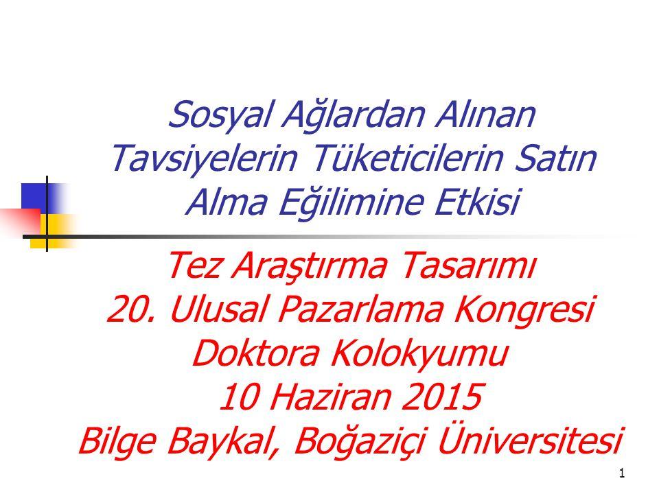 12 Teorik Altyapı Sosyal Sermaye Teorisi Nahapiet ve Ghoshal (1998)…..