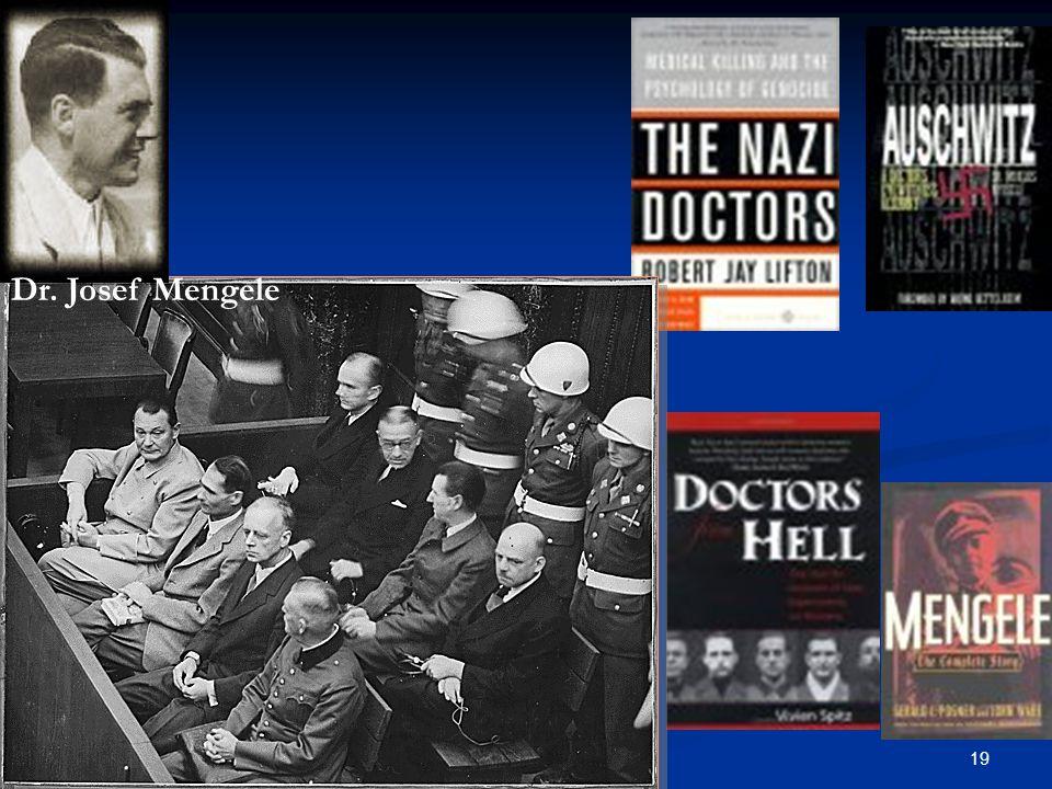 19NÖB Dr. Josef Mengele