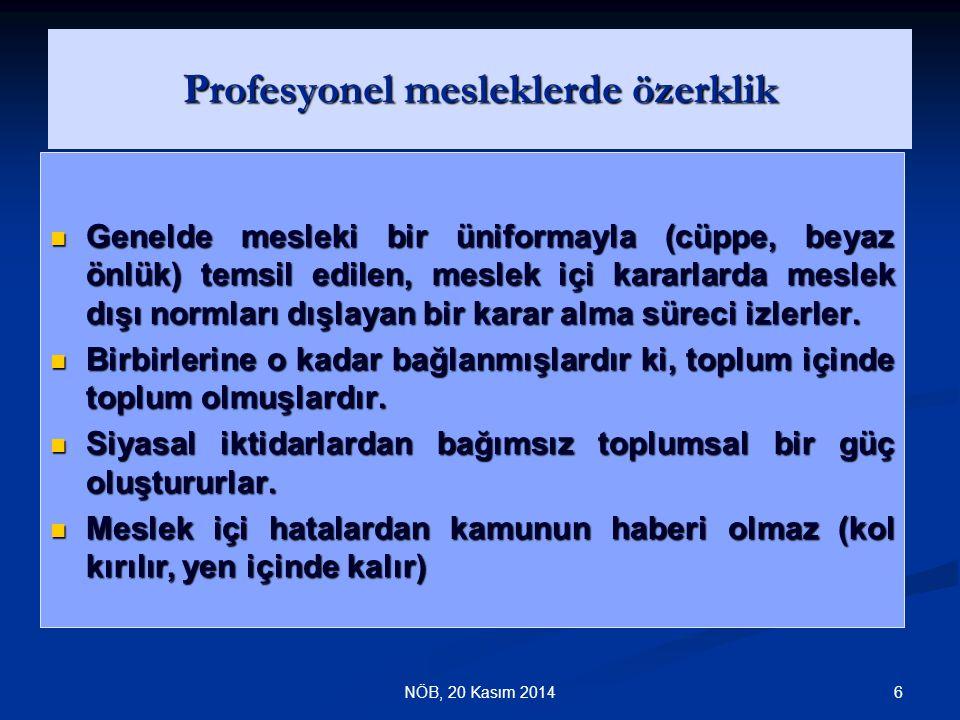37NÖB Sosyo-Kültürel Yapısıyla Türk Toplumunda Hekim- Hasta İlişkileri Toplumsal yapısını babacıl ( paternalistik ) tutum biçimlerinin belirlediği öteki ülkelerde olduğu gibi, ülkemizde de hekim-hasta ilişkisinde hekim genellikle ilişkideki yetke öğesidir.