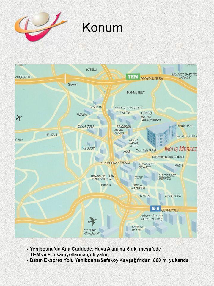 Kat Bilgileri Starcity AVM ye çok yakın Airport Hill Residence Projesi karşısında.