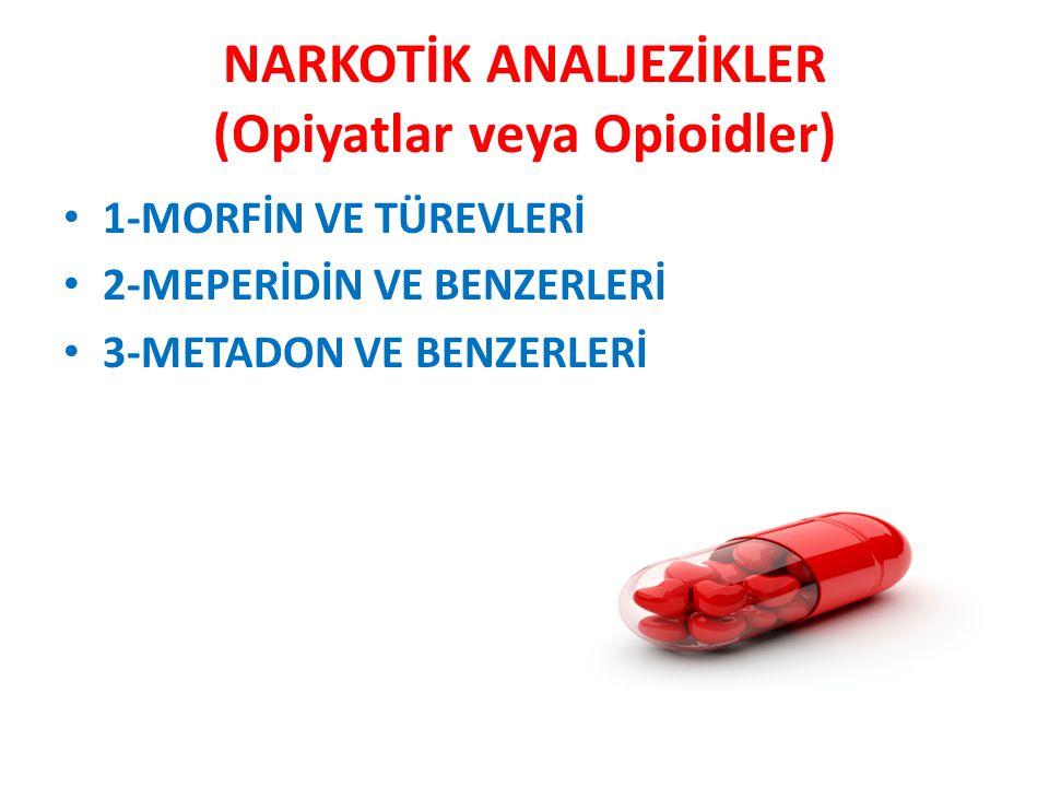 NARKOTİK OLMAYAN ANALJEZİK (NON- STEROİD ANTİ-İNFLAMATUAR) İLAÇLAR Etkileri narkotik analjeziklere oranla oldukça düşüktür.
