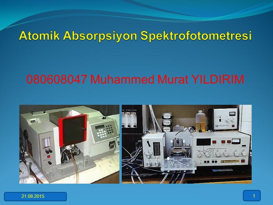 080608047 Muhammed Murat YILDIRIM 21.08.2015 1