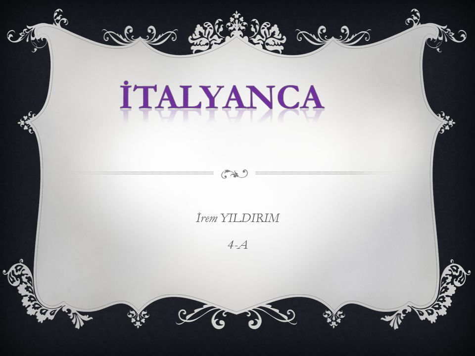 İrem YILDIRIM 4-A