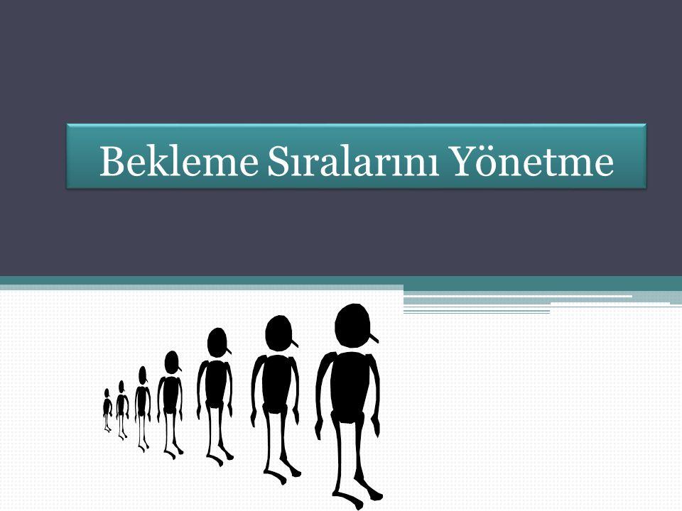 Kuyruk Maliyeti ve Hizmet Düzeyi Ödünleşme: Bekleme Süresi vs. Süreç Verimliliği