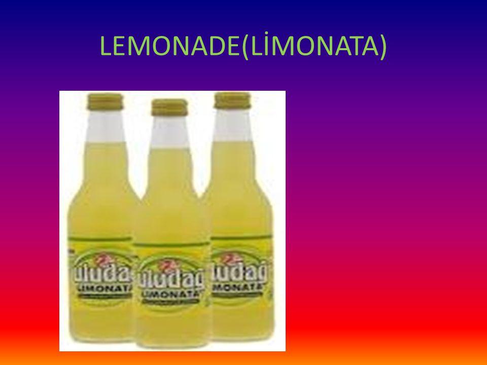 LEMONADE(LİMONATA)