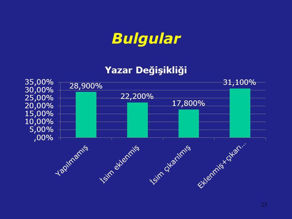 Bulgular 25