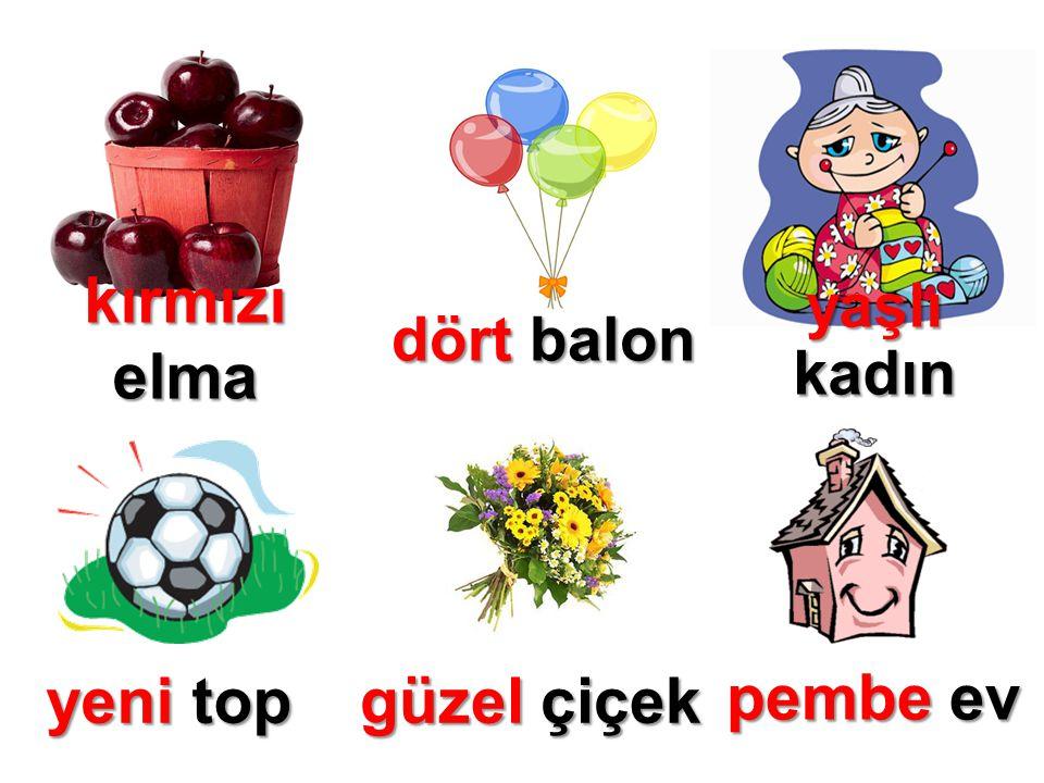 kırmızı elma dört balon yaşlı kadın yeni top güzel çiçek pembe ev