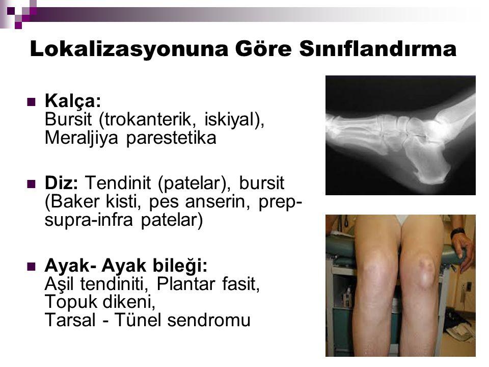 Alt Ekstremite Kalça, Diz, Ayak bileği, Ayak Meraljiya parestetika Morton nöroma Tarsal Tünel Sd.