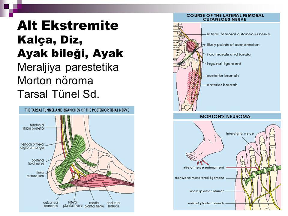 Tetik Nokta Kompresyonla aşırı lokal hassasiyet (+) Belirli bir alana doğru refere (yayılan) ağrı (+) Tetik noktayı aktive eden faktörler: gerilme, travma, kasın aşırı kullanılması ve soğuk
