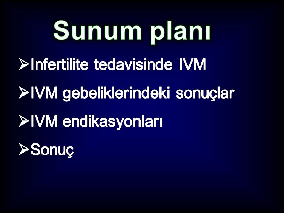 In Vitro Oosit Matürasyonu (IVM) Doğal siklusda stimule edilmemiş overlerden germinal vezikül (GV) aşamasındaki oositleri toplamak In vitro 24 - 48 saatte matür (M-II evresi) hale getirdikten sonra IVF / ICSI uygulamak BG