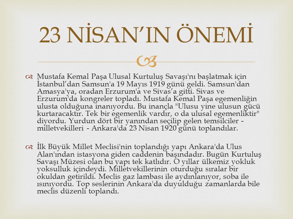   Egemenlik yönetme yetkisidir. Ulusal egemenlik; yönetme yetkisinin ulusta olmasıdır. Osmanlı imparatorluğu döneminde egemenlik padişahta idi. Padi