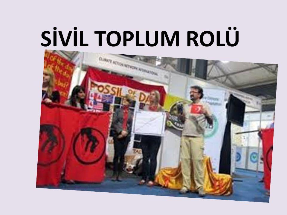 SİVİL TOPLUM ROLÜ