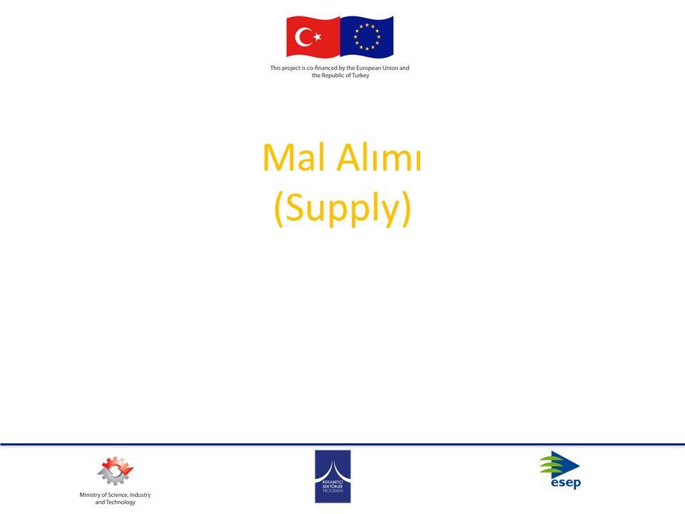 Mal Alımı (Supply)