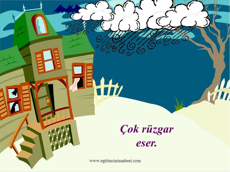 Çok rüzgar eser. www.egitimcininadresi.com