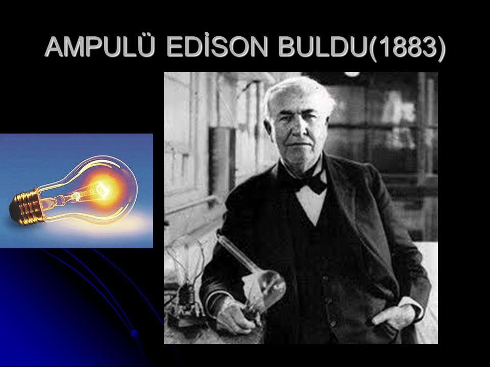 TELEFONU ALEXANDER GRAHAM BELL İCAT ETTİ(1876)