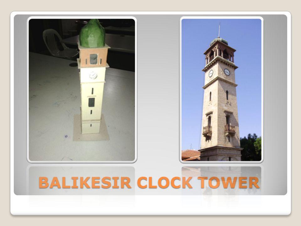 BALIKESIR CLOCK TOWER