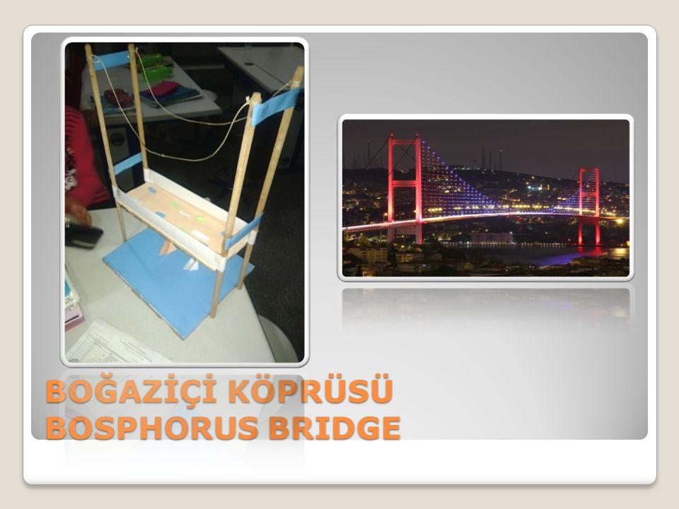 BOĞAZİÇİ KÖPRÜSÜ BOSPHORUS BRIDGE