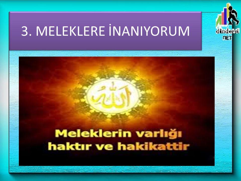 5- Melekler, Allah'ın emriyle farklı şekillere girebilirler.