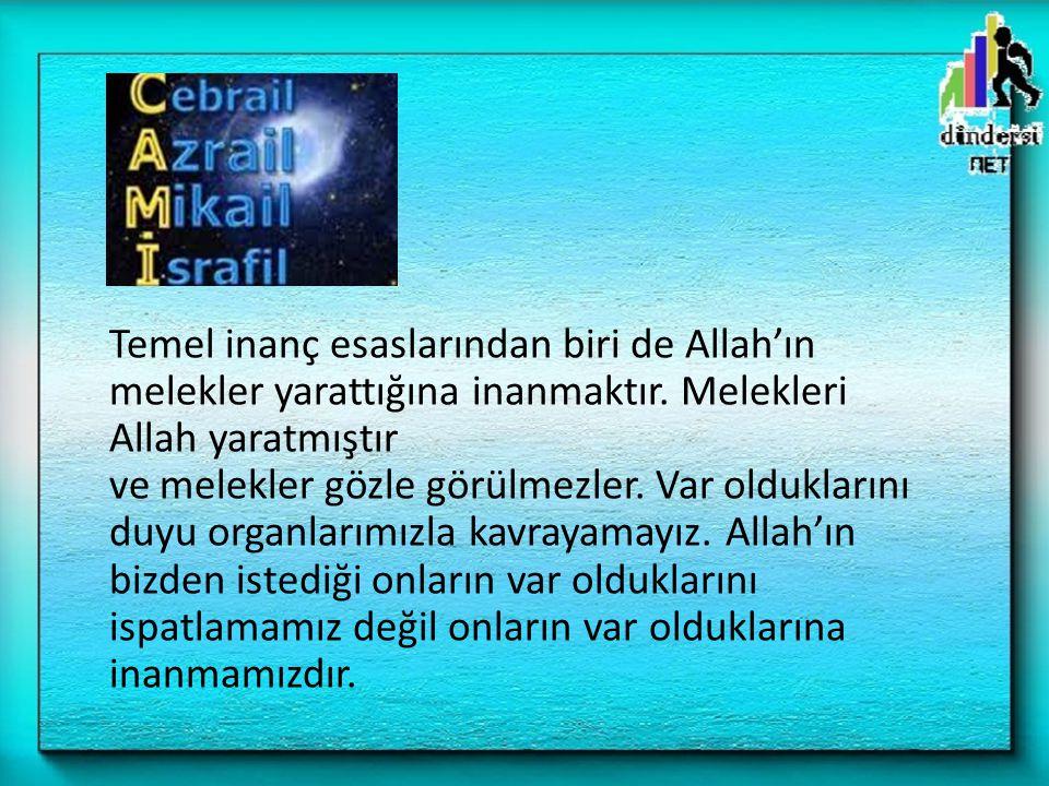 – Allah, Resulü ile müminler üzerine sükunet ve huzur duygusu indirdi.