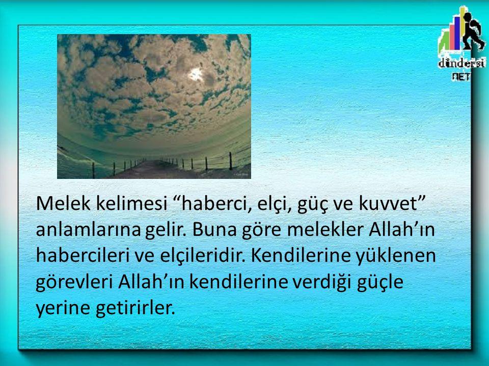 – Hatırlayın ki, siz Rabbinizden yardım istiyordunuz.