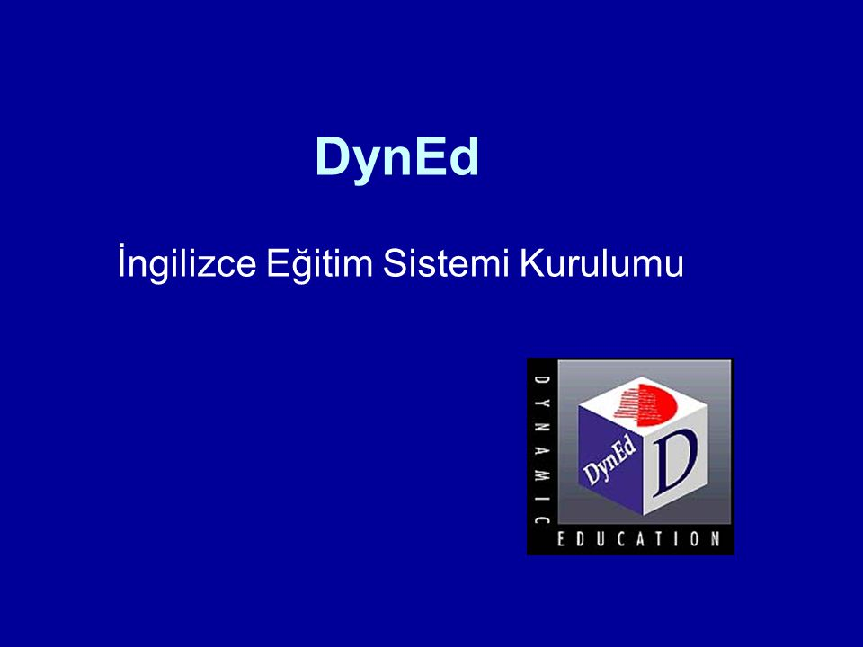 DynEd İngilizce Eğitim Sistemi Kurulumu