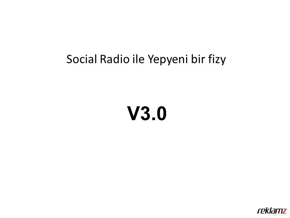 Social Radio ile Yepyeni bir fizy V3.0