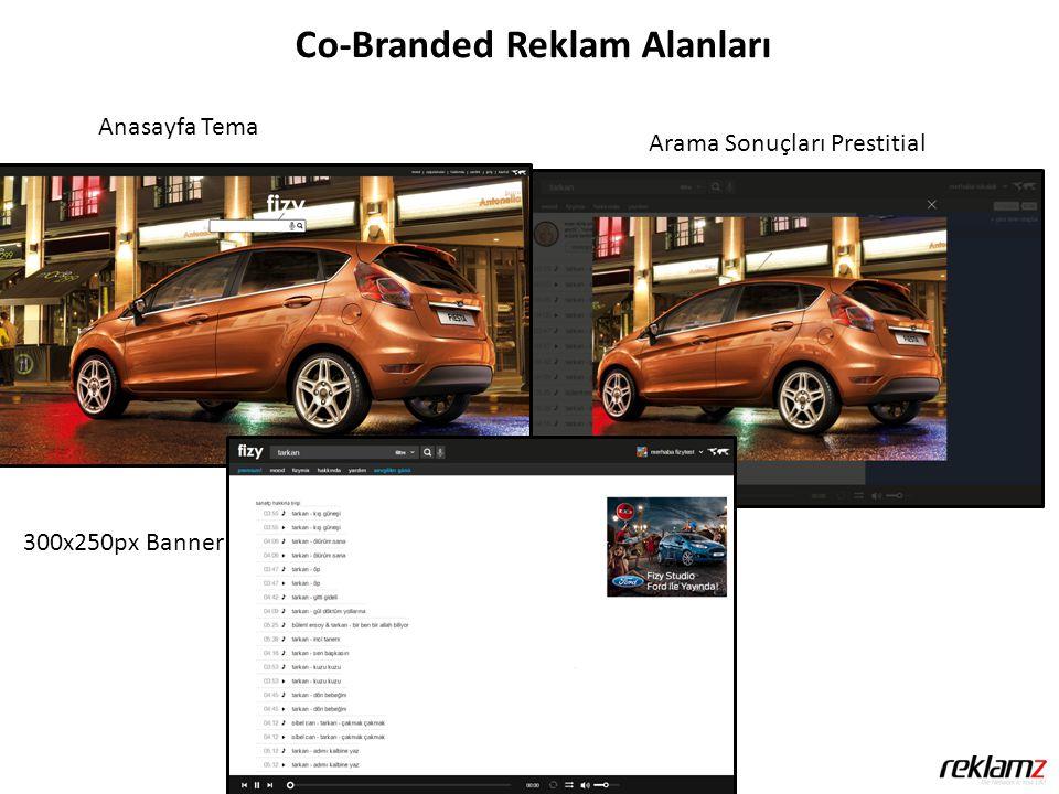 Co-Branded Reklam Alanları Anasayfa Tema Arama Sonuçları Prestitial 300x250px Banner