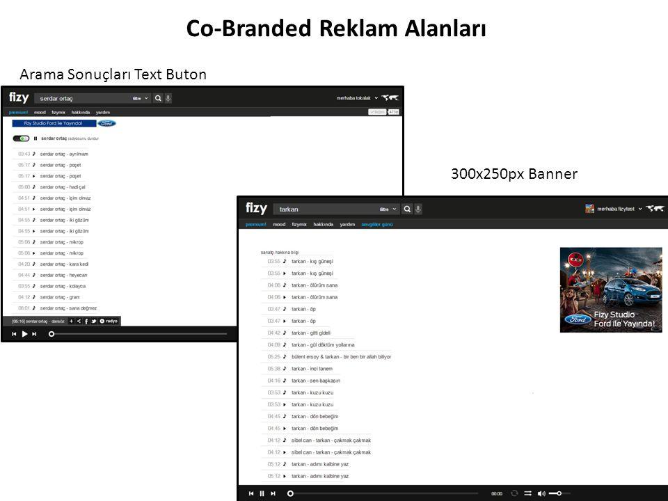 Arama Sonuçları Text Buton Co-Branded Reklam Alanları 300x250px Banner