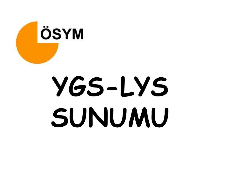 YGS-LYS SUNUMU