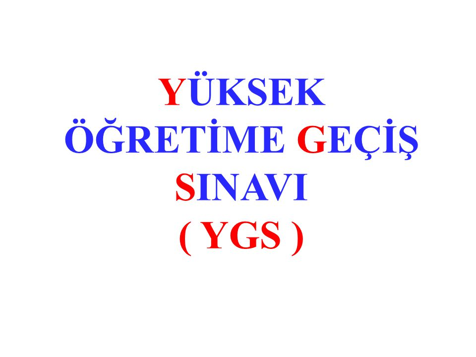 (Yabancı Dil) LYS-5 (Yabancı Dil) SINAVI: Yabancı Dil testi : 80 Soru, 120 dakika TOPLAM: 80 Soru, 120 dakika   Yabancı Dil testi İngilizce, Almanca ve Fransızca dillerinde hazırlanacaktır.