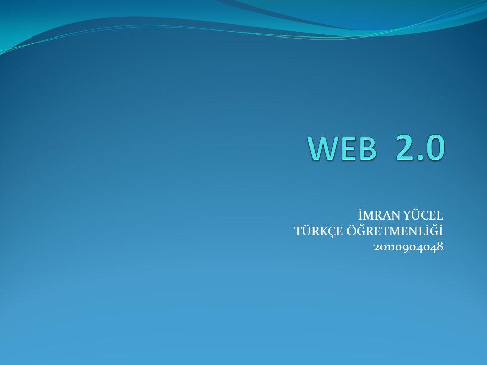 İMRAN YÜCEL TÜRKÇE ÖĞRETMENLİĞİ 20110904048
